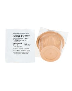 Demo Dose® Potassim Chlorid 30 mL Oral Solution 20 mEq/ 15 mL