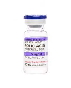 Demo Dose ® Folc Acd 5mg/mL  10mL