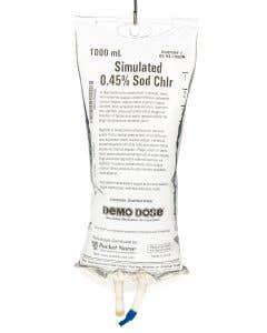 Demo Dose® 0.45% NaCl IV Fluids
