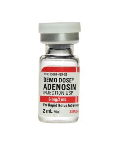 06-93-1119 Demo Dose® Adenosin (Adenocrd) 6mg/2mL 2mL