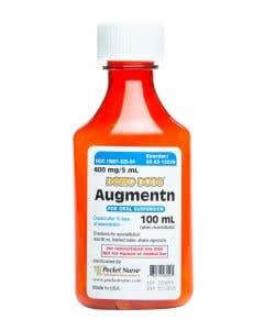 Demo Dose® Amoxicilln Clavulanc acd Augmentn 100 mL 400 mg/5 mL