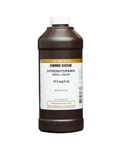 Demo Dose® Diphenhydramin 12.5mg/5mL Pint