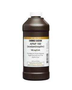 Demo Dose® Apap (Acetaminophn) 160mg/5mL Pint