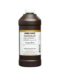 Demo Dose® Kayexalat 15g/60mL 1 Pint