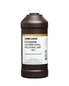 Demo Dose® Potassim Chlorid Oral Solution 10% - 473 mL Pint