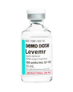 Demo Dose® Levemr 100 units/ 10mL