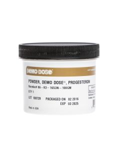 Demo Dose® Powder Progesteron 100 gm