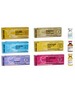 Demo Dose® Luer-Lock ACLS Syringe Bundle 2