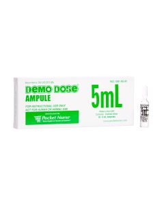 Demo Dose® Clear Ampule, 5mL