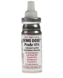 Demo Dose® ProAr HFA Aersol Inhaler