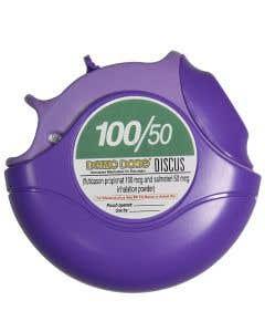 Fluticason/Salmeterl Disc Inhaler 100/50