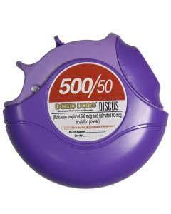 Fluticason/Salmeterl Disc Inhaler 500/50