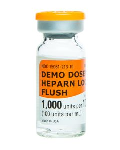 06-93-3000P Demo Dose® Heparn Flush