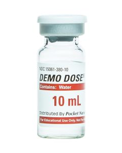 Demo Dose® Water Vial 10mL