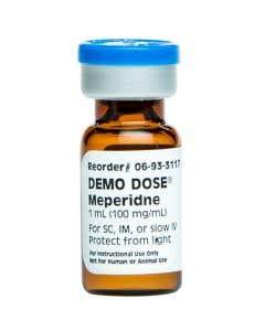 Demo Dose® Meperidin (Demerl) 1 mL 100 mg/mL