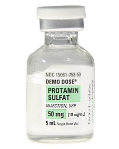 Demo Dose® Protamin Sulfat Injection 50mg/5mL 5mL