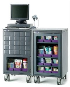medDispense® Medication Dispensing System with Cabinet