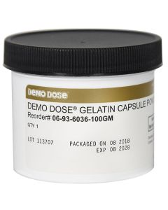 Demo Dose® Powder for Gelatin Capsule