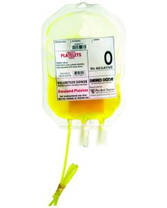 Demo Dose® Simulated Platelets O Rh Negative