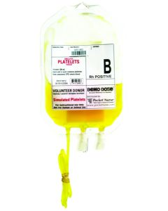 Demo Dose® Simulated Platelets B Rh Positive