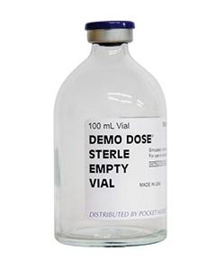 Demo Dose® Sterile Empty Vial