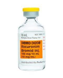 Demo Dose® Rocuronim Bromid (Zemurn) 10 mL 100 mg/10 mL