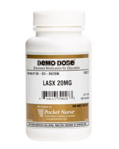 06-93-9028 Demo Dose® Furosemid (Lasx) 20 mg - 100/Bottle