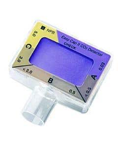 07-71-1000 Nellcor™ Adult Colorimetric Easy Cap II CO2 Detectors