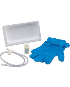 Argyle™ Suction Catheter Tray with Sterile Saline - 14 Fr (24/Case)