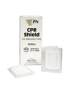 Pocket Nurse CPR Training Shields