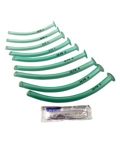 Nasopharyngeal Airway Kits - 9 NPA includes 9 packs of Lubricating Jelly