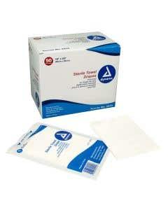 "Disposable Sterile Towel Drapes - 18"" x 26"""
