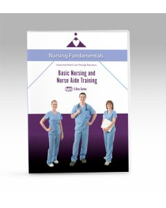 Basic Nursing and Nurse Aide Training 5 DVD Series - Now with Closed Caption  **Non-Returnable