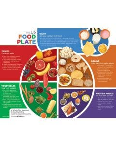 09-31-4448 US Food Plate Handouts