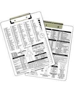 09-31-5510 Nursing/Medical Clipboard Imprinted - White
