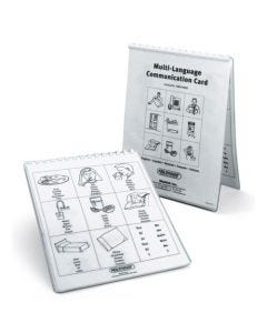 09-83-0025 Multi-Language Communication Cards