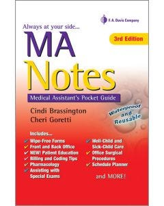 09-83-1283 MA Notes Pocket Guide 3rd Edition