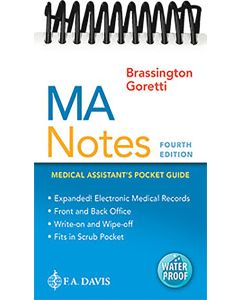 MA Notes: Medical Assistant Pocket Guide, 4th Edition