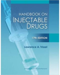 09-83-3781 Handbook on Injectable Drugs 17th Edition