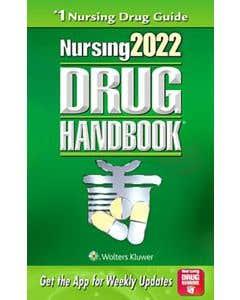 Lippincott Williams & Wilkins, Nursing 2022 Drug Handbook