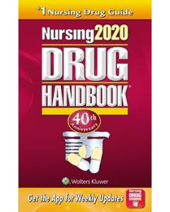 09-83-9264 2020 Nursing Drug Handbook