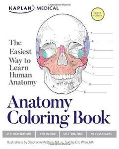09-83-9782 Anatomy Coloring Book- 6th Edition