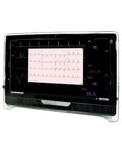 Touch-Pro Wireless Patient Monitor with Wall Mount