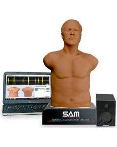 Cardionics SAM 3G Student Auscultation Manikin 3rd Generation, Dark