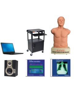 11-81-1114 Cardionics SAM III Non-Enhanced Bundle Package - White