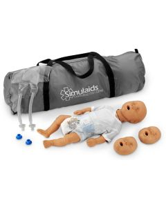Simulaids Newborn Kim CPR Manikin with Bag