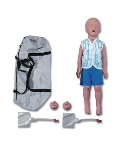 11-81-2951 Simulaids Kyle 3-Year Old Manikin with Bag