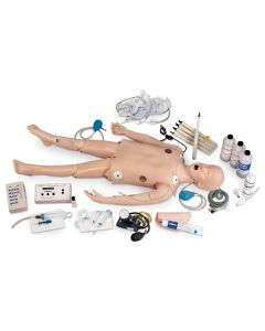 Life/form® Deluxe Child CRiSis Manikin with ECG Simulator