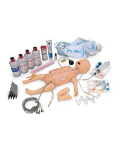 12-81-3718 Nasco Life/form® Deluxe Complete Infant CRiSis™ Manikin with Interactive ECG Simulators