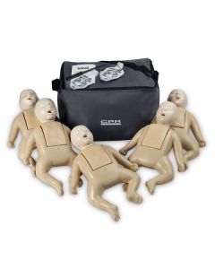 Nasco Tan CPR Prompt® TPAK 50T Infant Training Pack - 5 Manikins